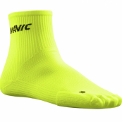 Calcetines Cosmic Mid Safety Yellow