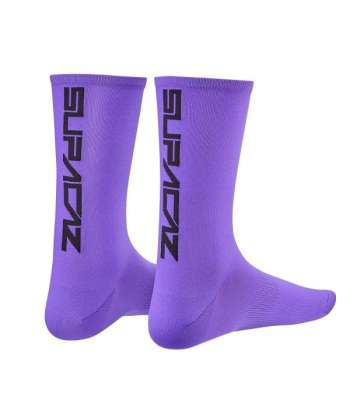 Calcetines NEON PURPLE/BLACK