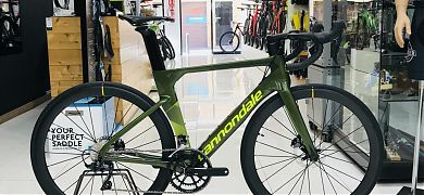 Cannondale SystemSix Carbon Ultegra + Mavic Cosmic
