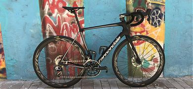 Cannondale Synapse red etap disc